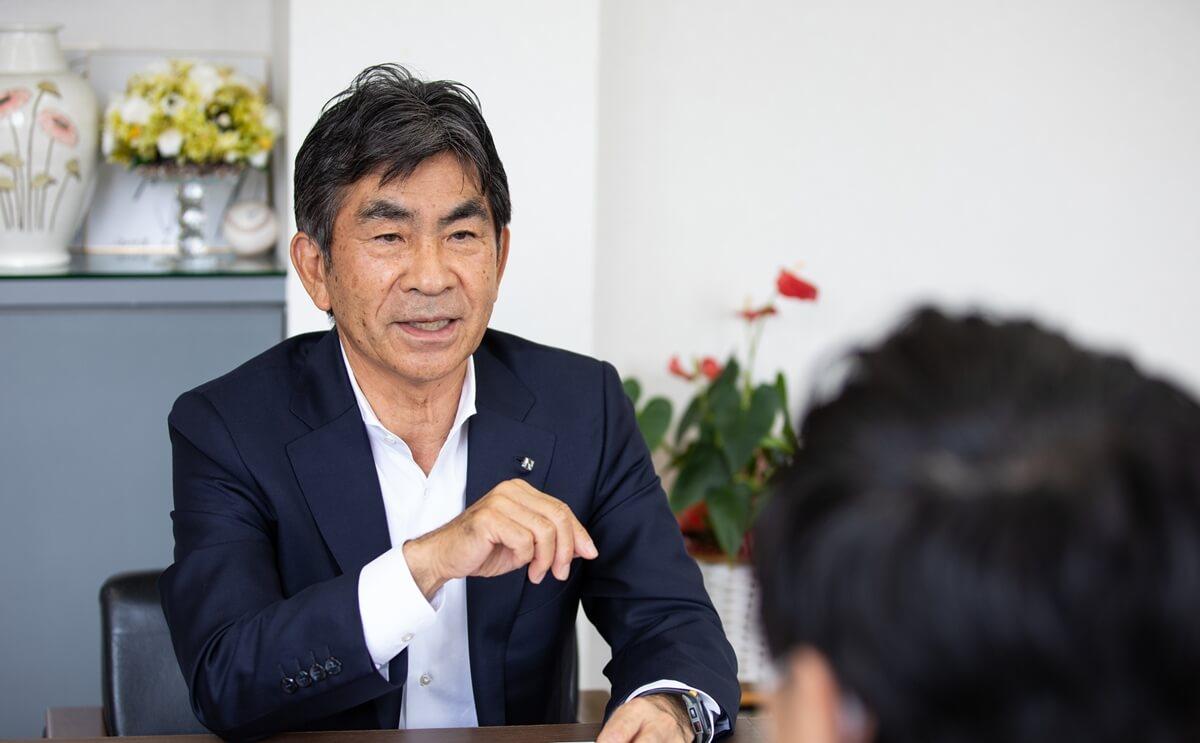 未来について語る西田氏